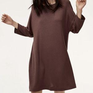 Wilfred Free Cober Dress Purple Burgundy XXS